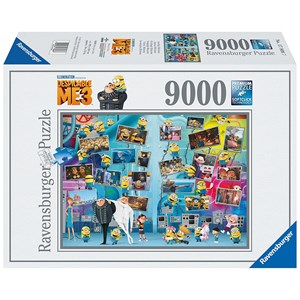 "Ravensburger (17808) - ""Funny Minions"" - 9000 pieces puzzle"