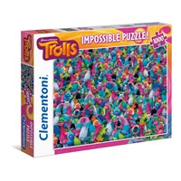 """Clementoni (39369) - """"Trolls"""" - 1000 pieces puzzle"""