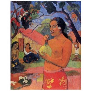 """D-Toys (66961-IM06) - Paul Gauguin: """"Where are you going?"""" - 1000 pieces puzzle"""