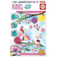 """Educa (16738) - """"Garden Art Scrap Puzzle"""" - 500 pieces puzzle"""