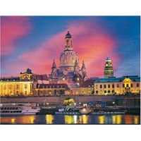 """Ravensburger (15836) - """"The Church of Dresde, Germany"""" - 1000 pieces puzzle"""