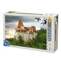 """D-Toys (63052-RM02) - """"Romania, Bran Castle"""" - 500 pieces puzzle"""