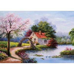 """KS Games (11324) - """"Cottage"""" - 1000 pieces puzzle"""
