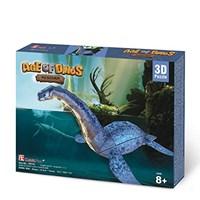 """Cubic Fun (P671h) - """"Plesiosaur"""" - 38 pieces puzzle"""
