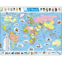 "Larsen (K1-ES) - ""El Mundo (in Spanish)"" - 107 pieces puzzle"