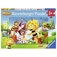 "Ravensburger (07594) - ""Bee Maja"" - 12 pieces puzzle"