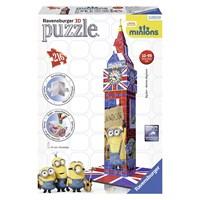 "Ravensburger (12589) - ""Big Ben Minions"" - 216 pieces puzzle"