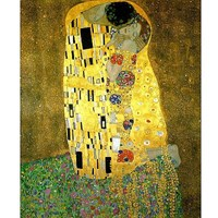 "Piatnik (545962) - Gustav Klimt: ""The Kiss"" - 1000 pieces puzzle"